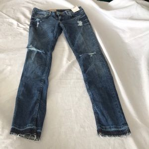 H&M supper skinny low waist jeans